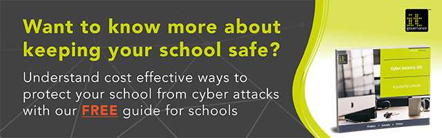 Cyber security 101 - a guide for schools green paper