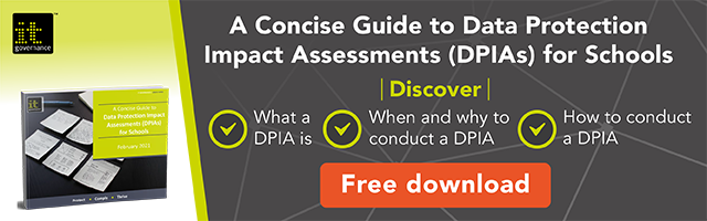 DPIAs a guide for schools. Click the image to download the green paper