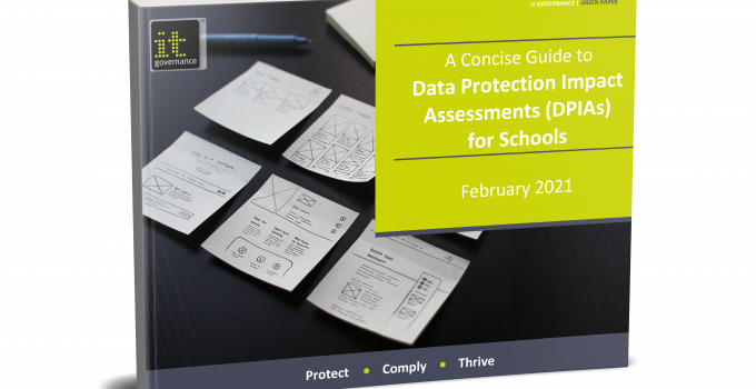 DPIAs for schools front cover image
